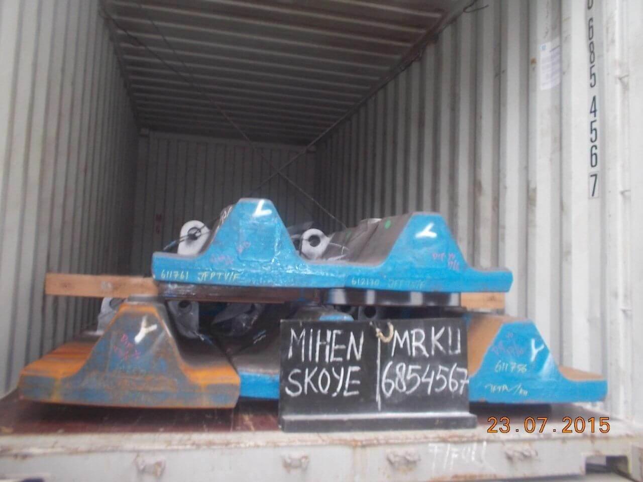 Перевозка импортного оборудования в 40 тн. контейнере
