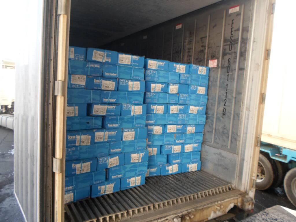 Перевозка св.мороженной продукции в термос-контейнерах